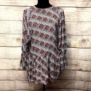 Zara Trafaluc Long Sleeve Tunic